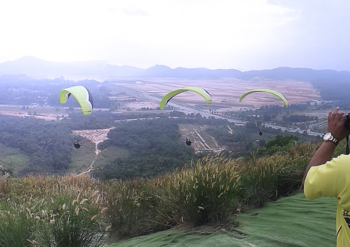 Sequence Motion Paraglider